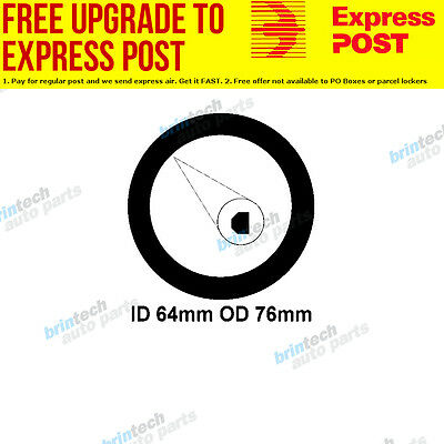 1965-1974 For Bedford Bus 330 ci Exhaust Flange Gasket