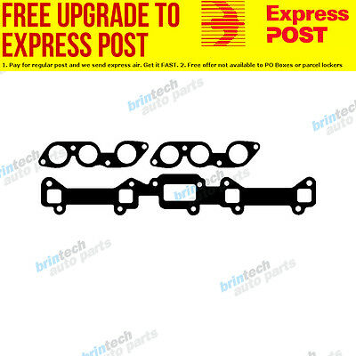 1972-1974 For Ford Fairlane ZF 250 ci Manifold Gasket Set H