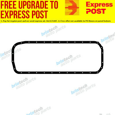 1986-1989 For Holden Commodore VL RB30 RB30E Nissan Engine Oil Pan Sump Gasket J