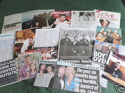 Boyzone - Pop Group-  Music- Clippings /cuttings Pack