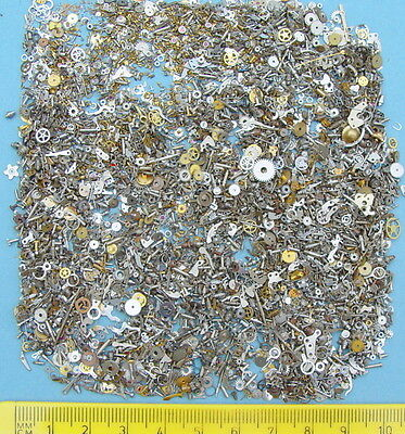 60g TINY SMALL MICRO STEAMPUNK 1mm - 3mm Watch parts ARTS CRAFTS ALTERED cogs