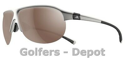 Adidas Brille a178 Tourpro L shiny white grey 6054
