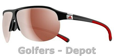 Adidas Brille a179 Tourpro S shiny black red 6052