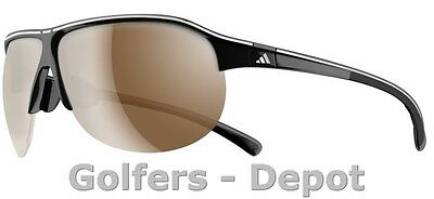 Adidas Brille a179 Tourpro S black shiny white line 6065
