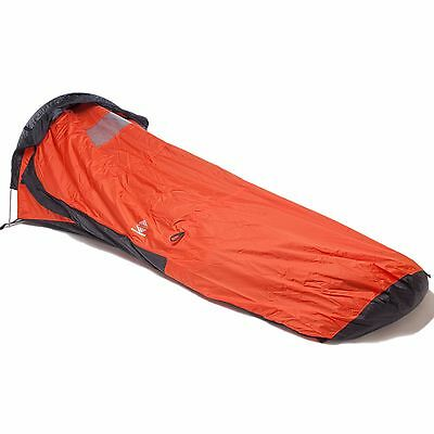 Aqua Quest Hooped Bivy Tent - One Person Single Pole Waterproof Shelter - Orange