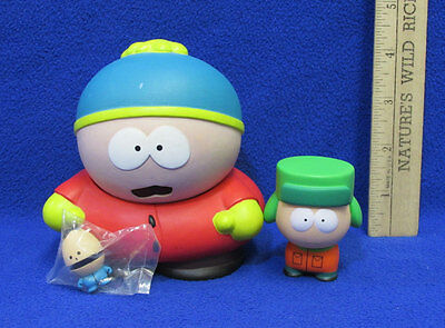 South Park Cartman Kyle & Kid Robot Toy Figure Adult Cartoon   Lot of 3