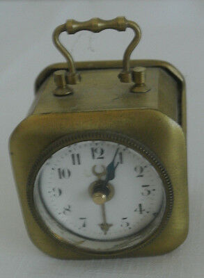 Antique Vintage Carriage Alarm Clock