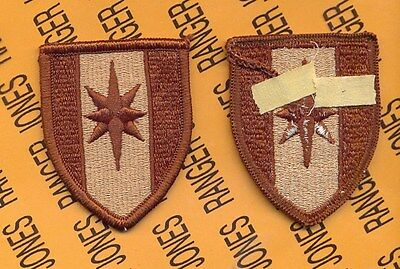 US Army 44th Medical Brigade Desert DCU uniform patch