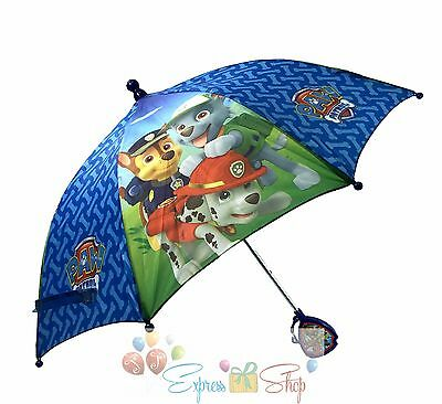 Nick Jr.  Paw Patrol Molded Handle Umbrella for Kids NWT