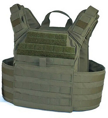 Shellback Banshee Rifle Plate Carrier MOLLE Gear TAG NEW RANGER GREEN Not OD