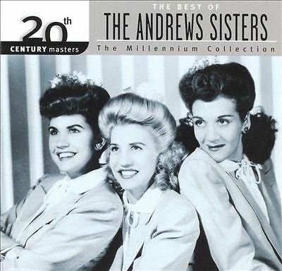 The Best Of The Andrews Sisters: The Millennium Collection CD (2000)