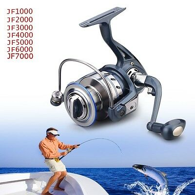 12BB+1RB Left /Right River Power Gear Sea Fishing Spinning Reel 5.5:1 High Speed