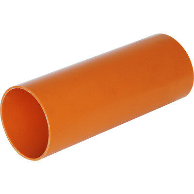 110mm Plain Ended Underground Drainage Pipe 250mm 500mm 1 Meter & 1.2M Lengths