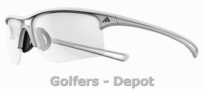 Adidas Brille a404 Raylor L shiny white 6055 Vario