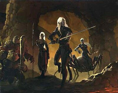 DUNGEON MASTERS SCREEN 4E QUAD-FOLD VF! Dungeons Dragons D&D Master's Master
