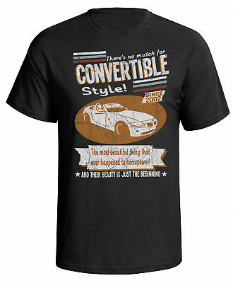 BMW Z4 Convertible 2002 Retro Style Mens Car T-Shirt
