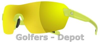 Adidas Brille a422 Arriba yellow transparent matt 6053 gold mirror