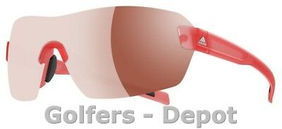Adidas Brille a422 Arriba red transparent matt 6051