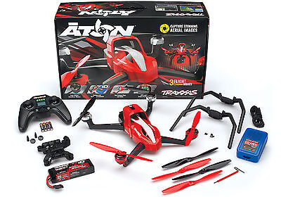 Traxxas 7908 Aton Quadcopter Drone w/ Radio / Mount / 3S iD Battery / Charger