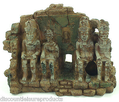 Aquarium Egyptian Aztec Ruin Ornament Fish Tank Decoration #1859W