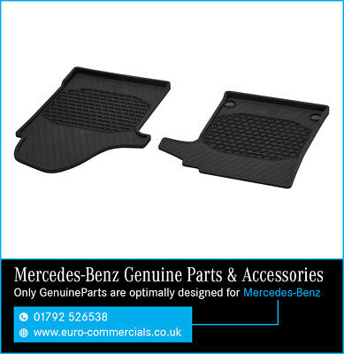 "Genuine Mercedes ""New"" 2015 Vito/V-Class Rubber Floor Mats- Front (447)"