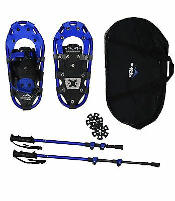 Mountain Tracks Pro 42 cm Snowshoe set with poles and bag