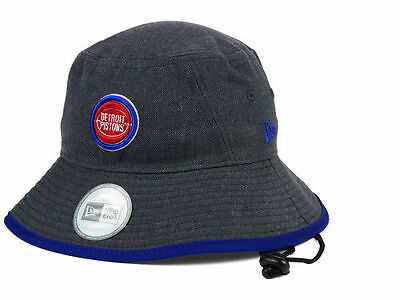 d1281055bb2 Detroit Pistons New Era NBA Hardwood Classics Bucket Hat (Gray) NWT Sizes M  or