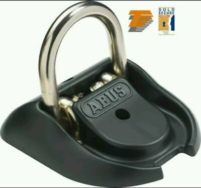 Abus Wba 100 Motorcycle Motorbike Granit High Security Ground / Wall Anchor
