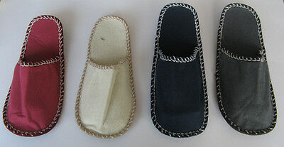 20 PAIR Felt Slippers Guests House Set shoes