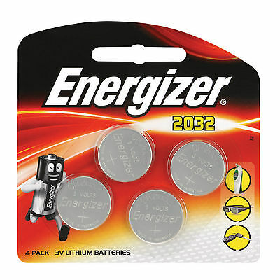 CR2032 Energizer CR2032 3V Lithium Coin Cell Battery 2032 x 4