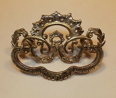 One Original Vintage brass pull (five available)