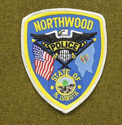 33594) Patch Northwood North Dakota Police Department Sheriff Fire Law Uniform