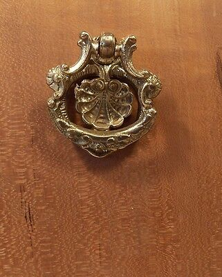 One Original Vintage brass ring pull