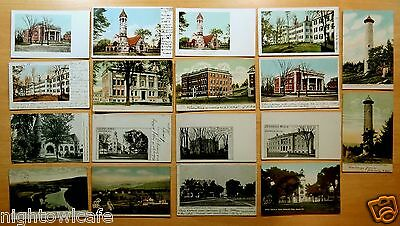 Lot of 18 Antique Postcards ALL HANOVER NH New Hampshire ALL UNDIVIDED BACK
