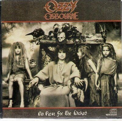 Ozzy Osbourne : No Rest For The Wicked CD