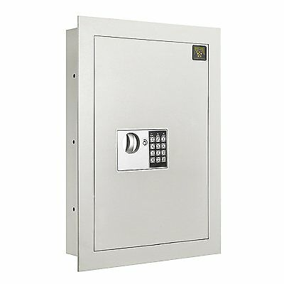 Paragon 7700 Flat Electronic Hidden Wall Safe Large Jewelry or Small Handgun New