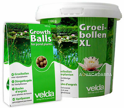 Velda Growth Balls Plant Fertilizer Super Food Feed Pond Marsh Garden Water Lily