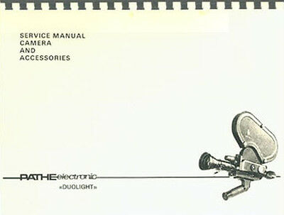 Pathe Electronic Duolight  DS8 and 16mm Service & Repair Manual