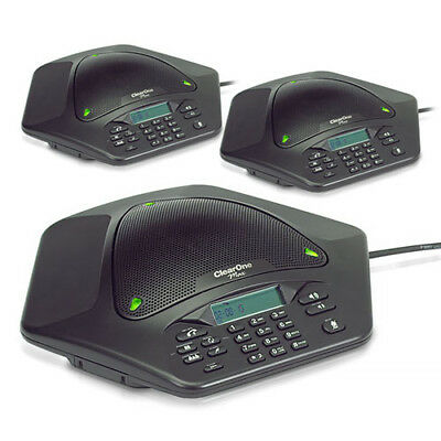 ClearOne MaxAttach Plus 1 3 Corded Conference Phone System 910-158-500-01
