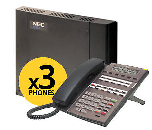 NEC DSX Systems NEC-1091015 DSX-40 System Kit with 3 Phones