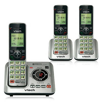 VTech CS6629-3 Cordless Phone  Expandable Up To 5 Handsets