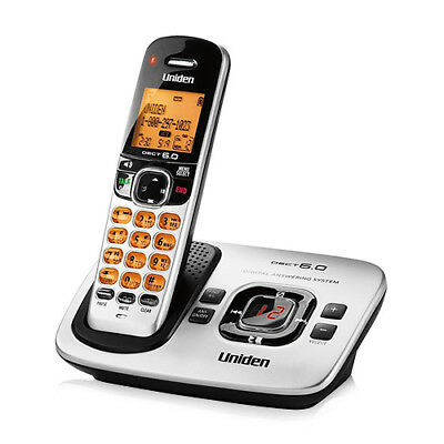 Uniden D1780 1.9GHz DECT 6.0 1 Handset Eco-Friendly Phone Cordless Phone New