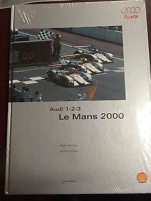 BRAND NEW, SEALED Audi 1-2-3 Le Mans 2000 (1st Ed.) Hardcover