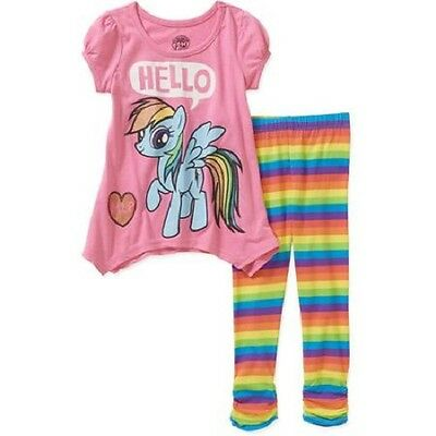 My Little Pony Toddler Girls 2 Piece Outfit Size -3T  NWT