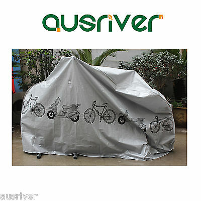 Bike Bicycle Cycling Rain Dust Protector Cover Waterproof Protection Garage