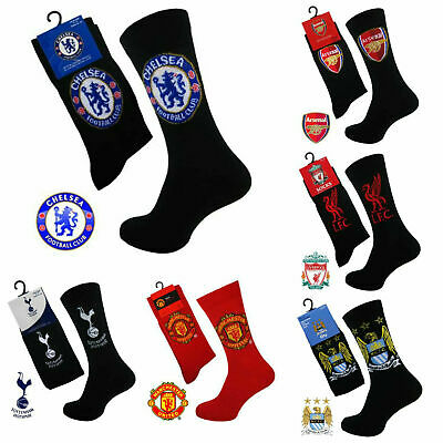 Official Men's Football Arsenal Spurs Manchester City United Chelsea Club Socks