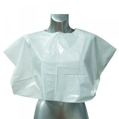 DMI Disposable Shoulder Capes White