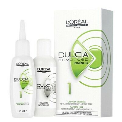 Dulcia Advanced Ionene G  no.1 For Natural Hair - Fortifying Perm Kit