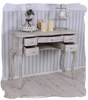nachttisch konsole shabby chic nachtschrank nachtkonsole vintage eur 74 25 picclick de. Black Bedroom Furniture Sets. Home Design Ideas