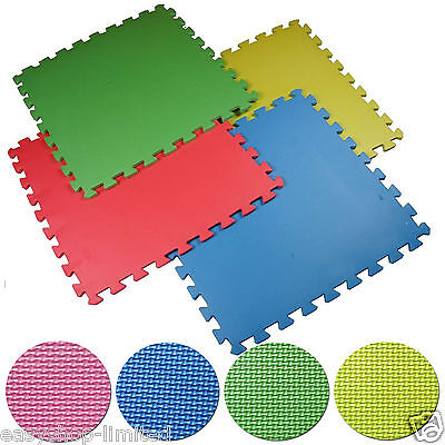 Interlocking Eva Multicolor Soft Foam Mats Floor Excercis Gym Play Garage Office